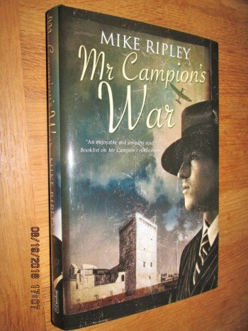 Image for Mr Campion's War SIGNED First Edition Hardback in Dustjacket