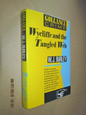 Image for Wycliffe and the Tangled Web First Edition Hardback in Dustjacket