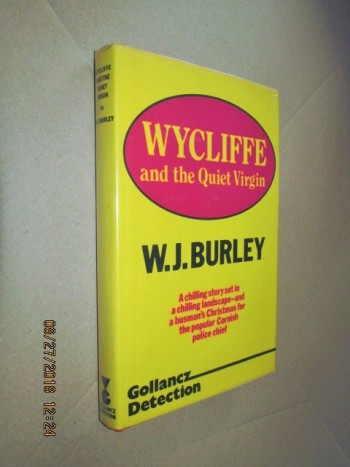 Image for Wycliffe and the Quiet Virgin First Edition Hardback in Dustjacket