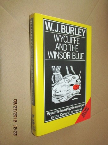 Image for Wycliffe and the Windsor Blue First Edition Hardback in Dustjacket