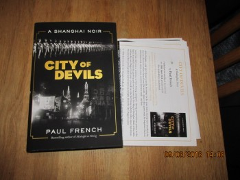 Image for City of Devils Unread First Edition Hardback in Dustjacket Plus Publicity Letter