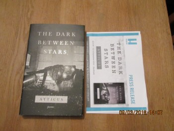 Image for The Dark Between Stars Unread First Edition Hardback in Dustjacket Plus Publicity Letter