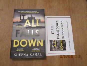Image for It All Falls Down First Edition Hardback in dustjacket Plus Publicty Letter