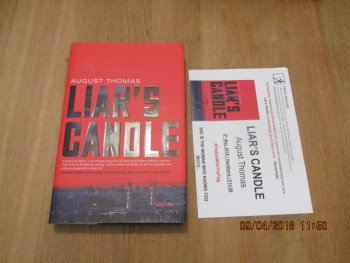 Image for Liar's Candle Unread First Edition Hardback in Dustjacket Plus Publishers Publicity Letter