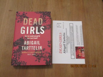 Image for Dead Girls Unread First Edition Hardback in Dustjacket Plus Publishers Publicity Letter