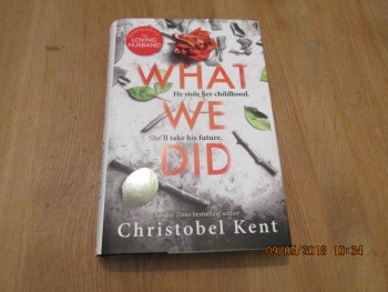 Image for What We Did unread First Edition Hardback in Dustjacket