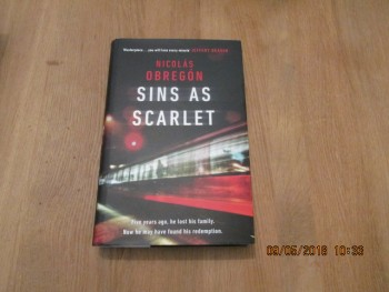 Image for Sins as Scarlet unread First Edition Hardback in Dustjacket