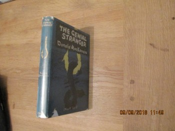 Image for The Genial Stranger First Edition Hardback in Dustjacket