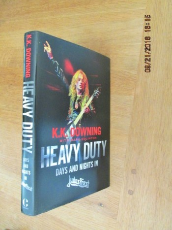 Image for Heavy Duty Days and Nights in Judas Priest Unread Signed First Edition Hardback in Dustjacket