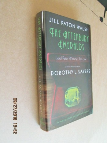 Image for The Attenbury Emeralds First Edition Hardback in Dustjacket