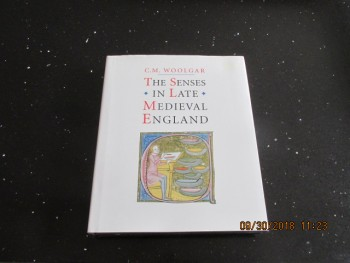 Image for The Senses in Late Medieval England First Edition Hardback in Dustjacket