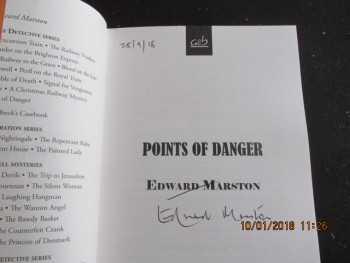 Image for Points of Danger Signed and Dated First Edition First  Hardback In Dustjacket