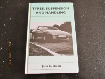 Image for Tyres, Suspension and Handling (Cambridge Engineering Series)