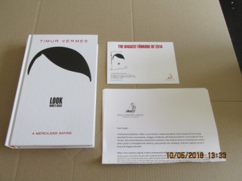 Image for Look Who's Back First Edition Hardback Plus Publicity Letter and Postcard