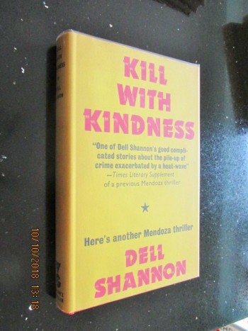 Image for Kill with kindness First Edition Hardback in Dustjacket