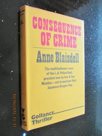 Image for Consequence of Crime First Edition Hardback in Dustjacket