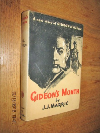 Image for Gideon's Month First Edition Hardback in Dustjacket