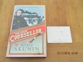 Image for The State Counsellor SIGNED first edition Hardback in Dustjacket