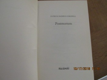 Image for Postmortem Macdonald First Edition Hardback in Later Dustjacket
