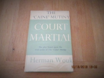 Image for The Caine Mutiny Court Martial 1955 First Edition Hardback in Dustjacket
