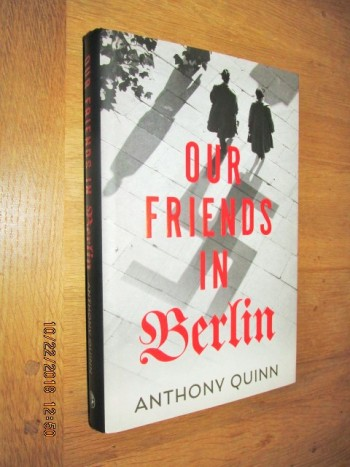Image for Our Friends in Berlin Unread First Edition Hardback in Dustjacket