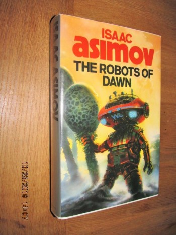 Image for The Robots of Dawn First Edition Hardback in Dustjacket
