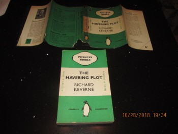 Image for The Havering Plot 1938 Penguin 2nd Edition in Dustjacket