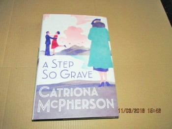 Image for A Step So Gave Unread First Edition Hardback in Dustjacket