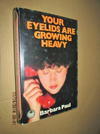Image for Your Eyelids are Growing Heavy First Edition Hardback in Dustjacket