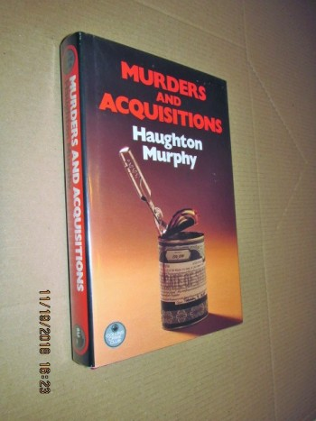 Image for Murders and Acquisitions Signed First Edition Hardback in Dustjacket