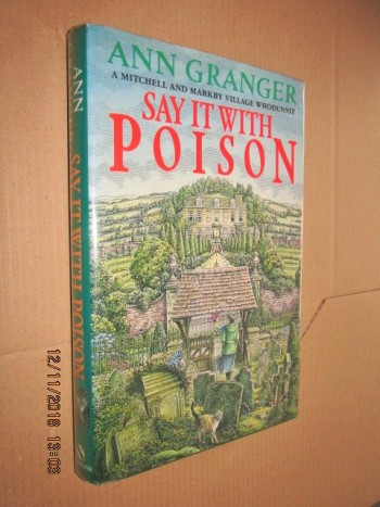Image for Say it with Poison First Edition Hardback in Dustjacket