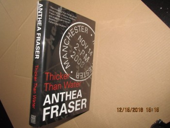 Image for Thicker Than Water First Edition Hardback in Dustjacket