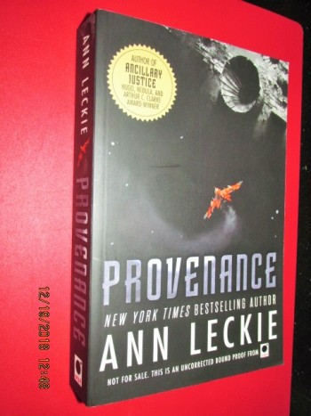 Image for Provenance Advanced Uncorrected Proof Copy
