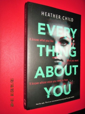 Image for Every Thing About You Advance Uncorrected Proof Copy