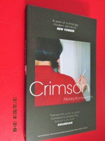 Image for Crimson Advance Uncorrected Proof Copy