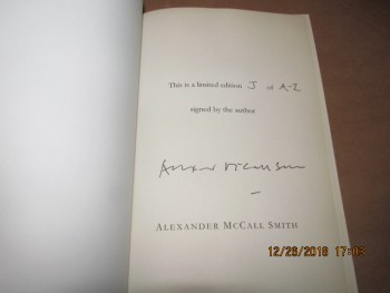 Image for The Sunday Philosophy Club Signed Proof Copy Lettered Copy  J of A-Z