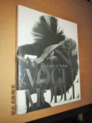 Image for Vogue Model the Faces of Fashion Still Sealed in Cellophane First Edition Hardback in Dustjacket