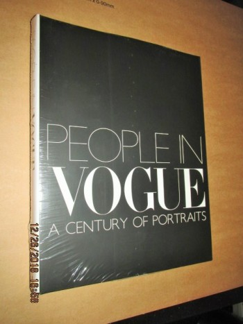 Image for People in Vogue a Century of Portraits Still Sealed in Cellophane First Edition Hardback in Dustjacket