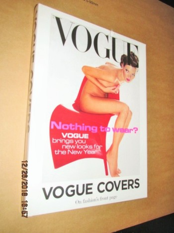 Image for Vogue Covers on Fashion's Front Page Still Sealed in Cellophane First Edition Hardback in Dustjacket