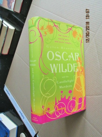 Image for Oscar Wilde and the Candlelight Murders First Edition Hardback in Dustjacket
