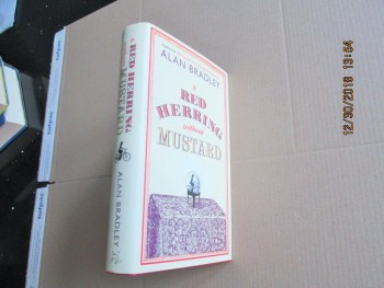 Image for A Red Herring Without Mustard First Edition Hardback in Dustjacket