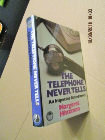 Image for The Telephone Never Tells First Edition Hardback in Dustjacket
