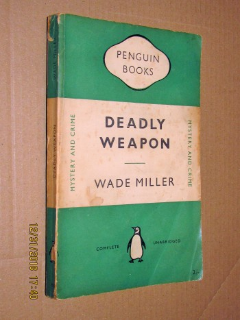 Image for Deadly Weapon First Printing Penguin Paperback