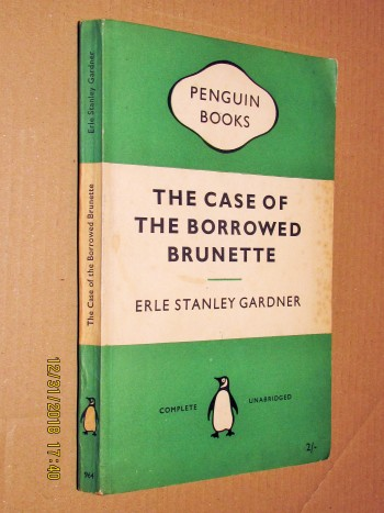 Image for The Case of the Borrowed Brunette First Printing Penguin Paperback