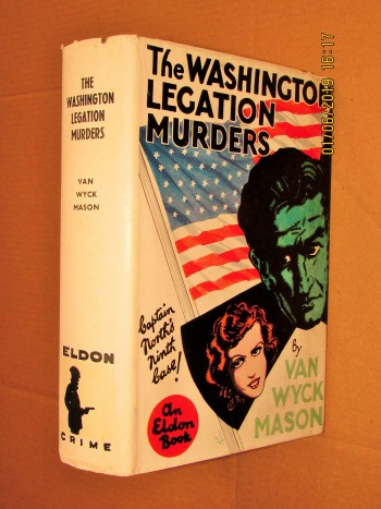 Image for The Washington Legation Murders 1937 First Edition Hardback in Dustjacket