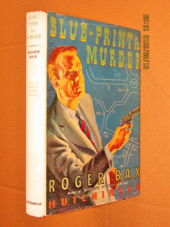 Image for Blue-Print for Murder 1948 First Edition Hardback in Dustjacket