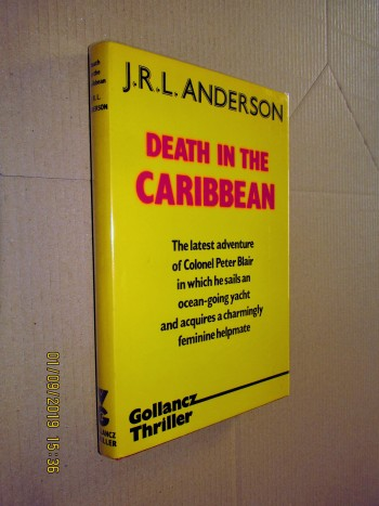 Image for Death in the Caribbean First Edition hardback in Jacket