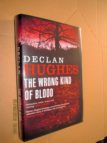 Image for The Wrong Kind of Blood Signed and Lined First Edition Hardback in Dustjacket