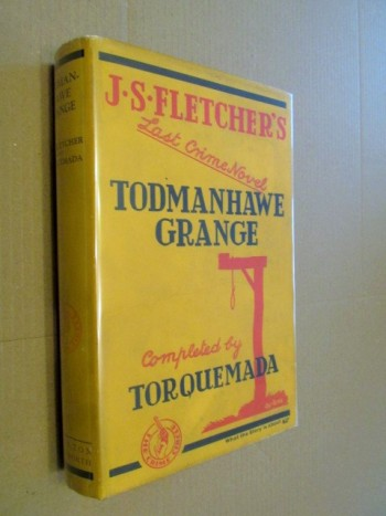 Image for Todmanhawe Grange 1937 First Edition Hardback in Dustjacket