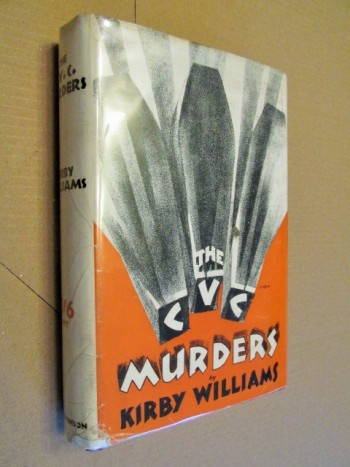 Image for The C V C Murders 1929  First Edition Hardback in Dustjacket